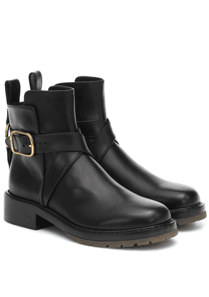 Franky leather ankle boots