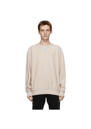 JW Anderson Off-White Inside-Out Contrast Sweatshirt