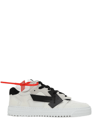 30mm 3.0 Leather & Mesh Low Top Sneakers