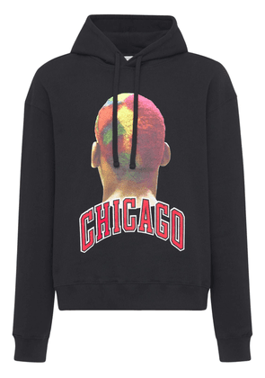 Chicago Player Printed Cotton Hoodie