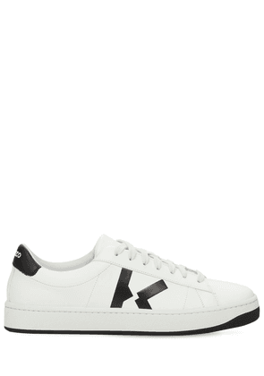 20mm Court Leather Low Top Sneakers