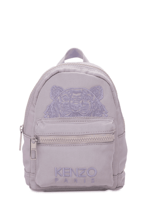 Tiger Embroidered Mini Backpack