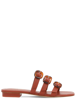 10mm Tallulah Leather Flat Sandals