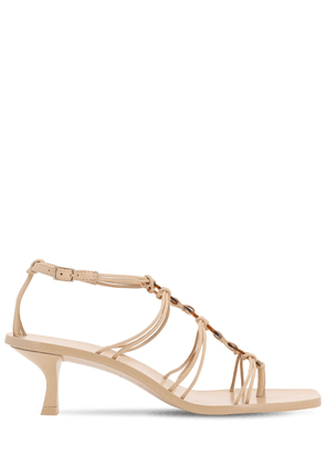 50mm Ziba Leather Sandals