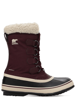 Winter Carnival Waterproof Nylon Boots