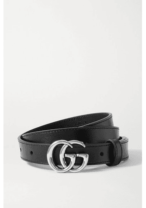 Gucci - Leather Belt - Black