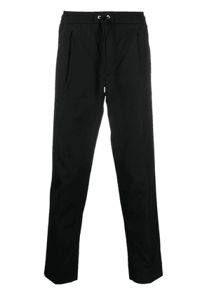 Moncler tapered drawstring trousers - Black