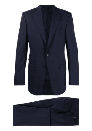TOM FORD two-piece single breasted suit - Blue