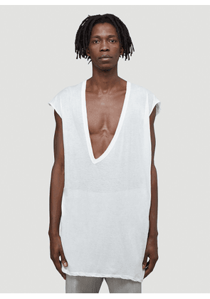 Rick Owens Dylan T-Shirt in White