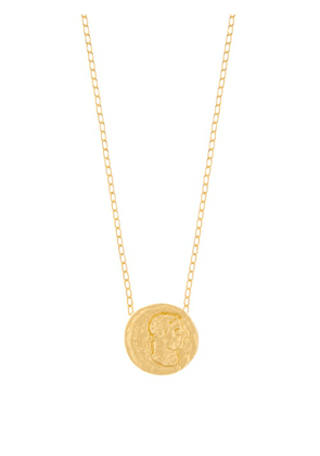 Dear Letterman - Noor 22kt Gold-plated Pendant Necklace - Mens - Gold