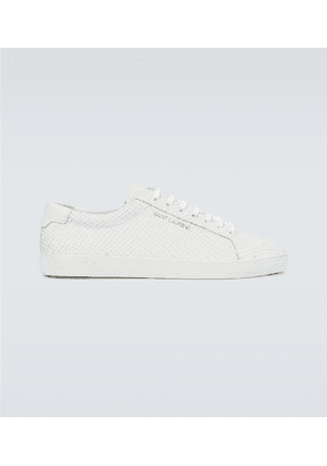 Andy leather tennis sneakers