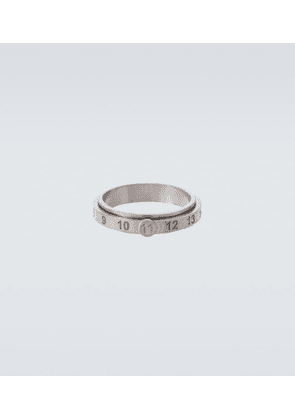 Sterling silver numbers ring