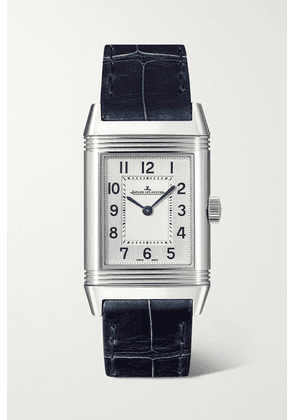 Jaeger-LeCoultre - Reverso Classic Small 21mm Stainless Steel And Alligator Watch - Silver