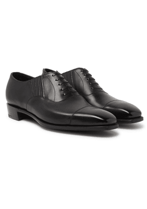 GEORGE CLEVERLEY - Bodie II Leather Oxford Shoes - Men - Black - UK 7