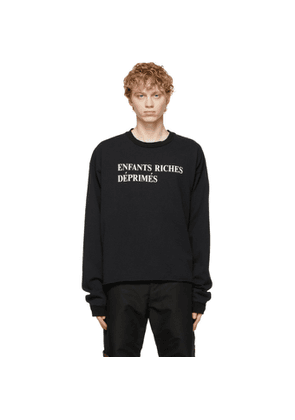 Enfants Riches Deprimes Black Classic Logo Long Sleeve T-Shirt