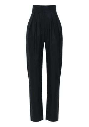 High Waist Cool Wool Pants