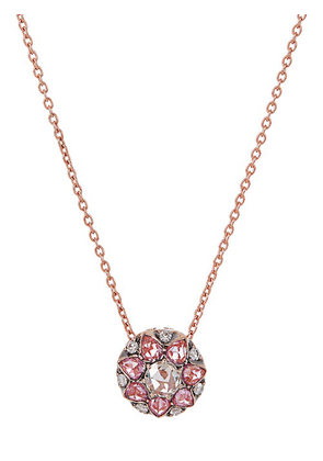 Selim Mouzannar - Beirut Diamond, Sapphire & 18kt Gold Necklace - Womens - Pink Gold