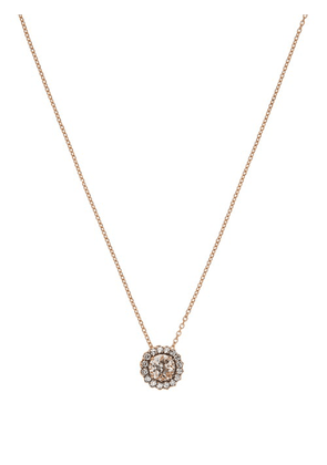 Selim Mouzannar - Beirut Diamond, Morganite & 18kt Gold Necklace - Womens - Pink Gold