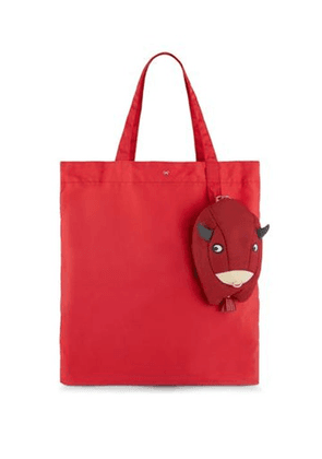 Anya Hindmarch - Lunar New Year Ox Tote Bag - Womens - Red