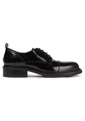 Ann Demeulemeester Glossed-leather Brogues Woman Black Size 36