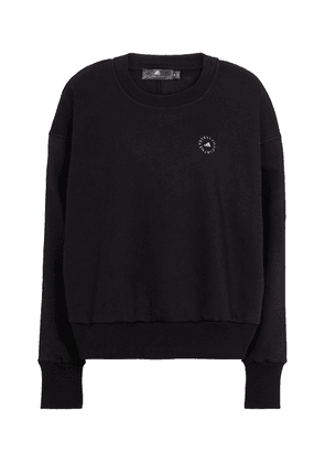 Logo cotton-blend jersey sweatshirt