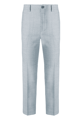 Berwich Chicca cropped trousers - Grey