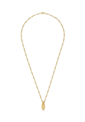 Gucci 18kt yellow gold diamond tiger head necklace - 8000