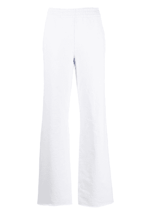 Acne Studios high-waisted track pants - Blue