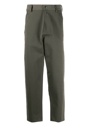 Valentino baggy-fit panelled trousers - Green