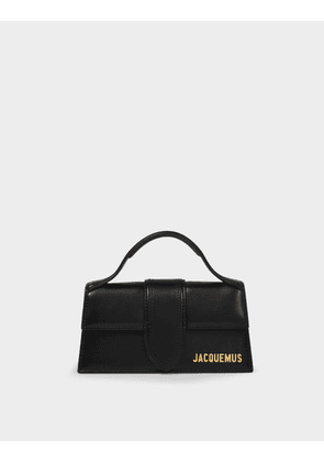 Le Bambino Bag in Black Leather