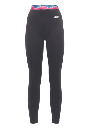 Leggings W/ Contrasting Waistband