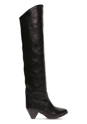 60mm Remko Leather Over-the-knee Boots
