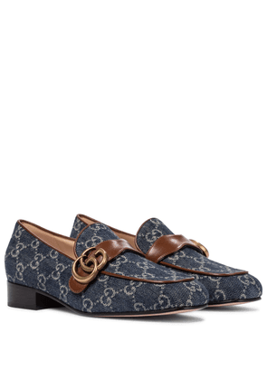 GG Marmont denim loafers