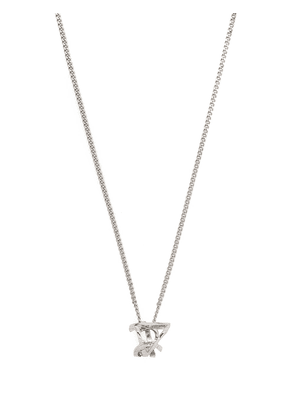 Saint Laurent prism charm necklace - Silver