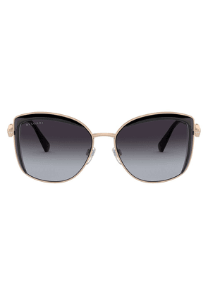 Bvlgari BV6128B cat eye-frame sunglasses - Gold