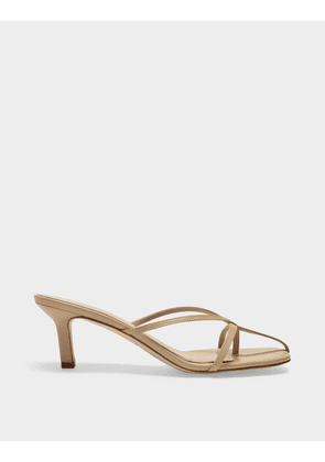 Etoile Heel Sandals in Sand Leather