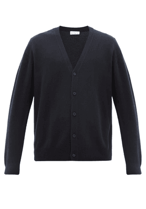Raey - Loose-fit Cashmere Cardigan - Mens - Navy