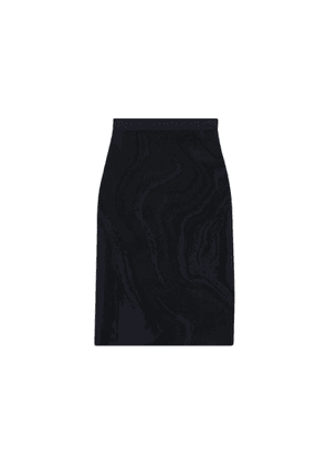 Theory Skirt In Galaxy Stretch Knit
