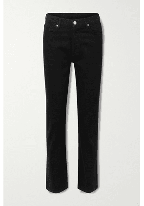 GOLDSIGN - + Net Sustain The Benefit High-rise Straight-leg Jeans - Black