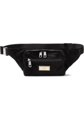 DOLCE & GABBANA - Shell Belt Bag - Men - Black
