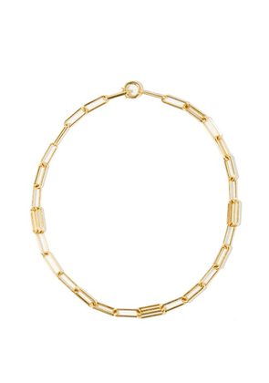 Spinelli Kilcollin - Elliptical 18kt Gold Necklace - Womens - Yellow Gold