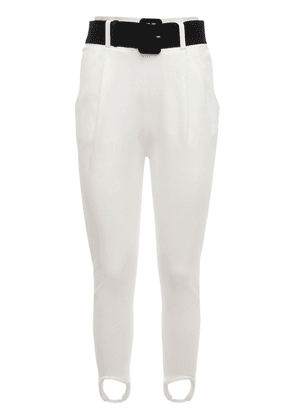 Knitted Stirrup Jogger Pants