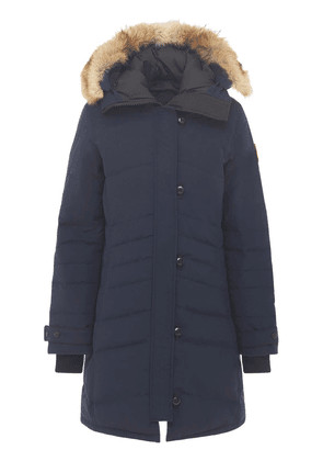 Lorette Down Parka W/ Fur Trim
