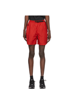 Nike ACG Red Woven Shorts