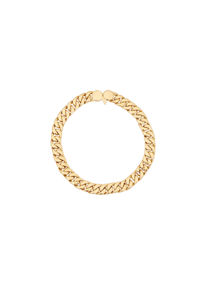 Tom Wood Curb 7 9k Gold-plated Chain Bracelet