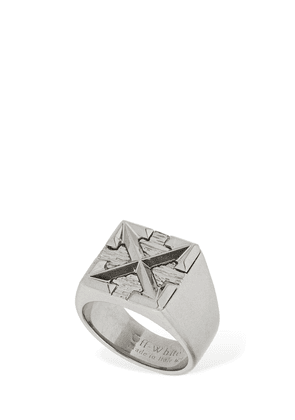 Arrow Thick Signet Ring