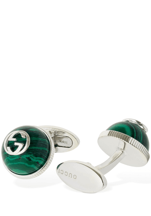 Interlocking G Enamel Cufflinks