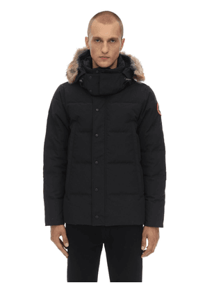 Wyndham Down Parka W/ Fur Trim