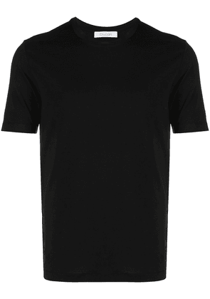 Cruciani crew-neck fitted T-shirt - Black