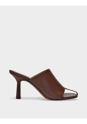 Jumel Sandals in Chocolate Leather